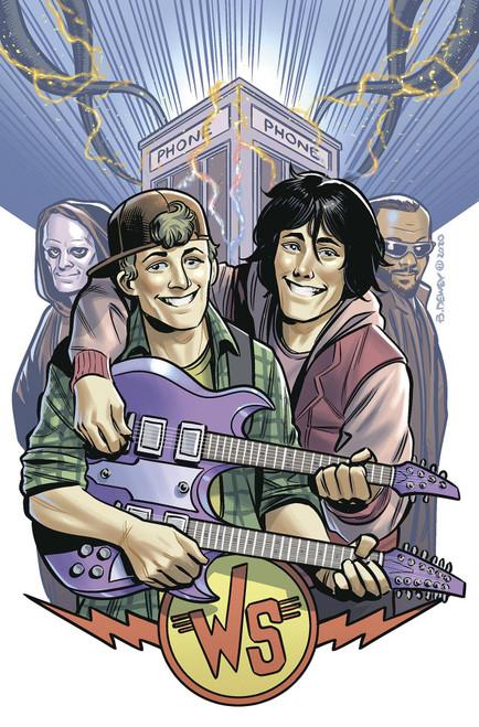 Dark Horse Bill & Ted Are Doomed #4 Comic Book [Ben Dewey Cover B]