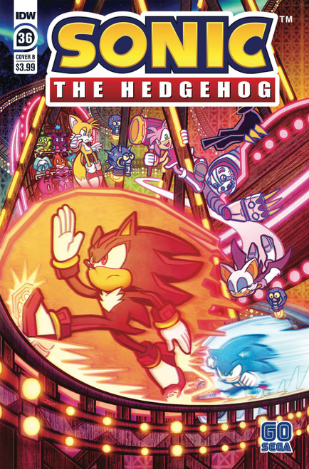 IDW Sonic The Hedgehog #36 Comic Book [Cover B]