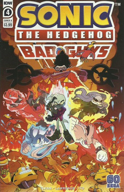 IDW Sonic The Hedgehog Bad Guys #4 of 4 Comic Book [Cover A]