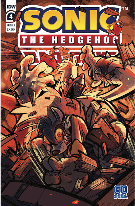 IDW Sonic The Hedgehog Bad Guys #4 of 4 Comic Book [Cover B]