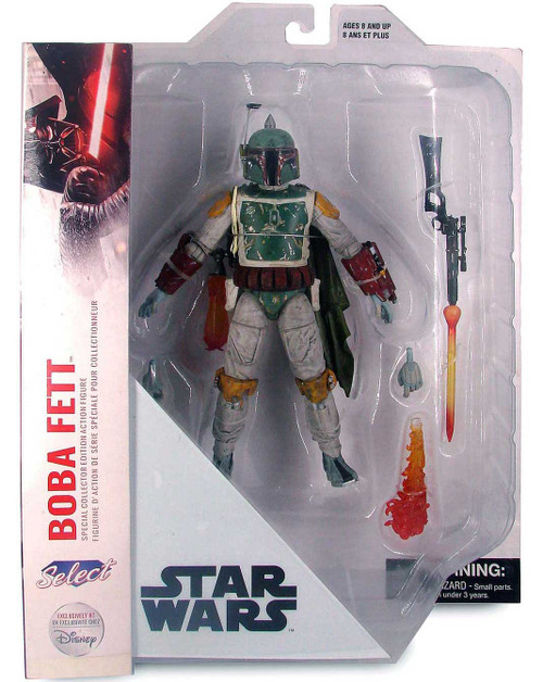 Star Wars Collector's Edition Boba Fett Exclusive Action Figure