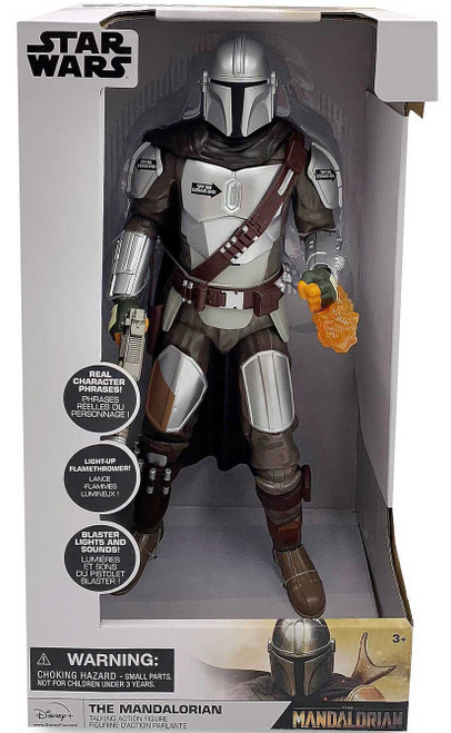 Disney Star Wars The Mandalorian Exclusive Talking Action Figure