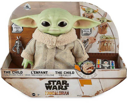 Star Wars The Mandalorian Real Moves The Child (Baby Yoda) Exclusive 12-Inch Plush (Pre-Order ships December)