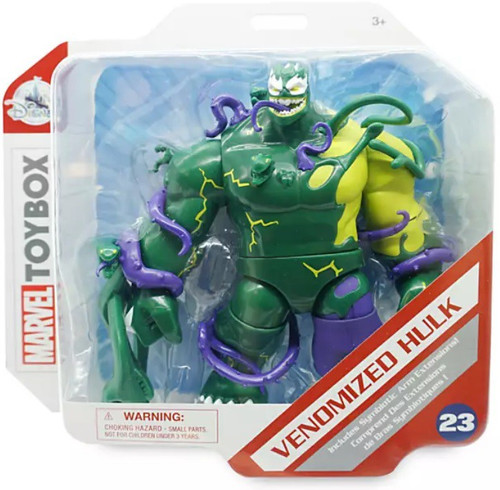Disney Marvel Toybox Venomized Hulk Exclusive Action Figure