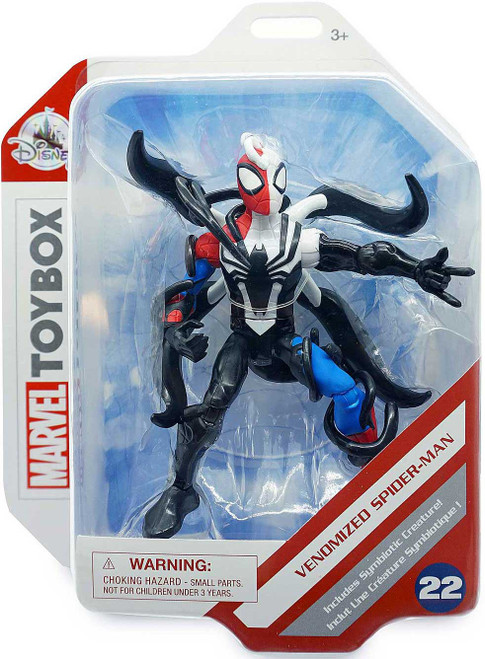 Disney Marvel Toybox Venomized Spider-Man Exclusive Action Figure