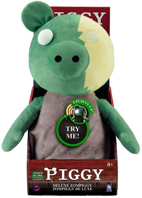 Deluxe Zompiggy 13-Inch Light Up Plush [Exclusive DLC Code] (Pre-Order ships August)