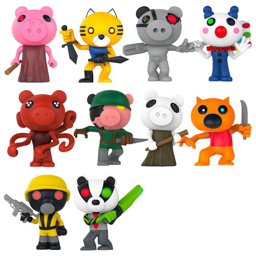 Series 1 Piggy 3-Inch Set of 10 Minifigures [Loose] (Pre-Order ships May)