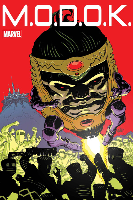 Marvel MODOK Head Games #1 of 4 Comic Book (Pre-Order ships December)