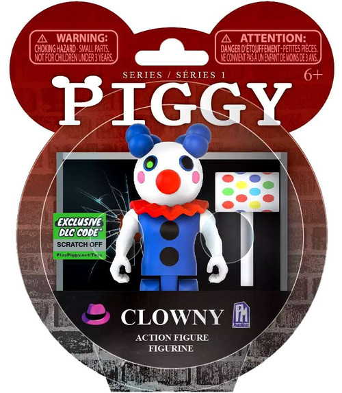 Piggy Clowny Action Figure [Exclusive DLC Code]