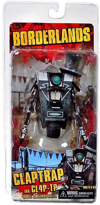 NECA Borderlands Claptrap Action Figure [Gentleman Caller]