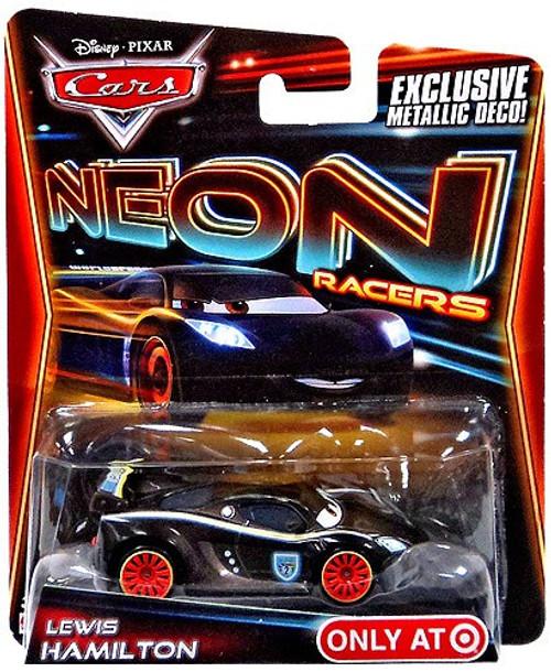 Disney / Pixar Cars Neon Racers Lewis Hamilton Exclusive Diecast Car [Metallic Deco]