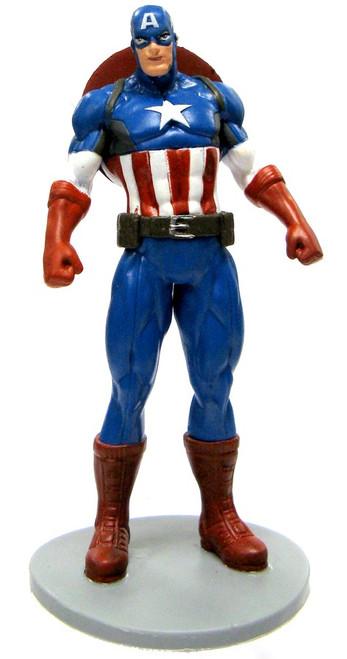 Disney Marvel Avengers Captain America 3.75-Inch PVC Figure [Standing Loose]