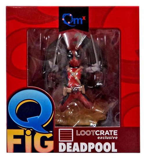 Marvel Q-Fig Deadpool Exclusive Diorama Figure