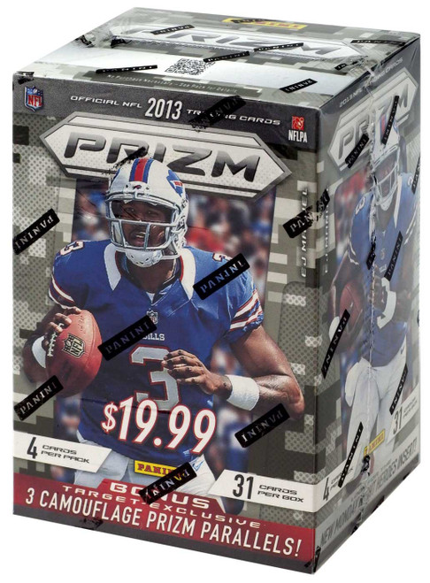 NFL Panini 2013 Prizm Football Exclusive Trading Card BLASTER Box