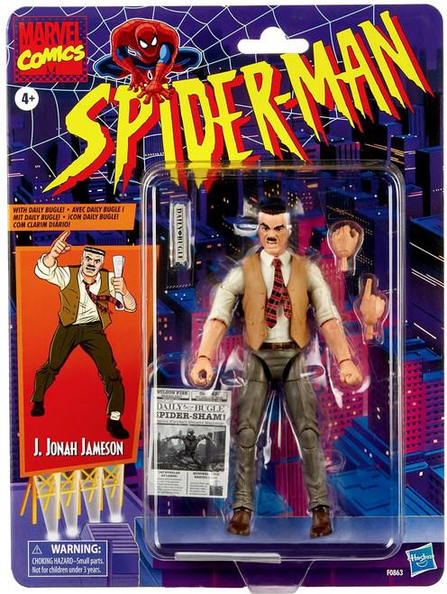 Spider-Man Marvel Legends Vintage (Retro) Series J. Jonah Jameson Action Figure (Pre-Order ships May)