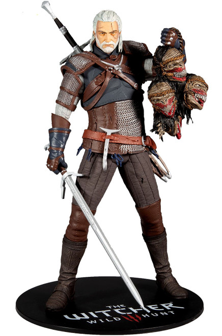 McFarlane Toys Witcher Geralt of Rivia Deluxe Action Figure
