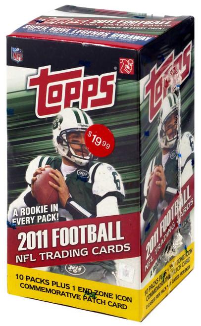 NFL 2011 Topps Football Cards Trading Card BLASTER Box [10 Packs]