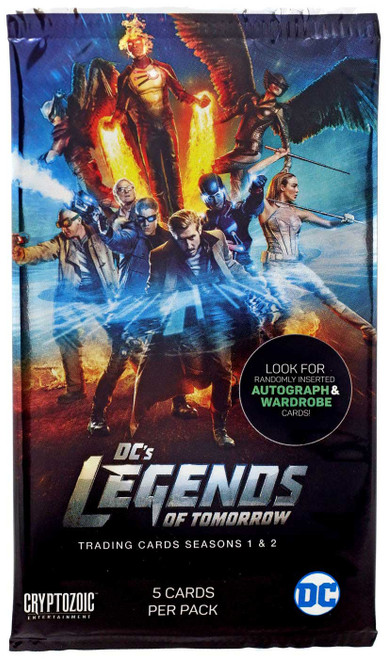 DC Legends of Tomorrow Seasons 1 & 2 Trading Card Pack