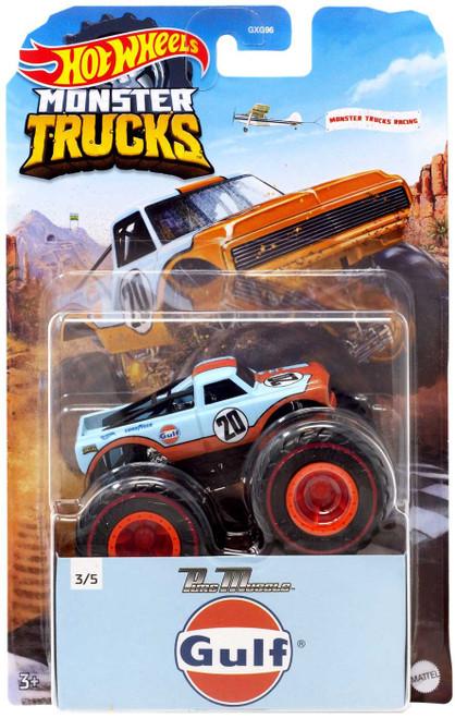 Hot Wheels Monster Trucks Pure Muscle Diecast Car [Gulf]