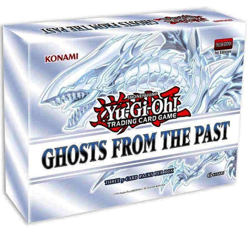 YuGiOh Trading Card Game Ghosts From The Past MINI Box [3 Booster Packs] (Pre-Order ships April)