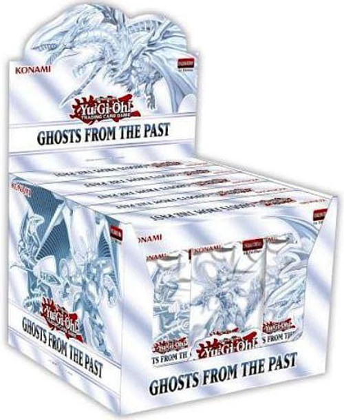 YuGiOh Trading Card Game Ghosts From The Past DISPLAY Box [5 MINI Boxes (15 Booster Packs)] (Pre-Order ships March)