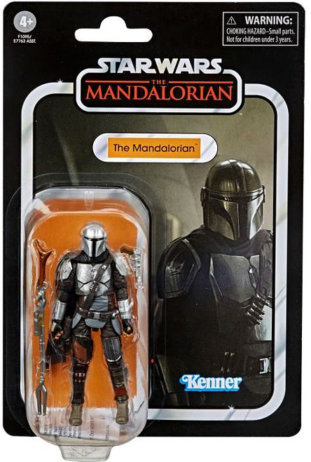 Star Wars Vintage Collection The Mandalorian Action Figure [Full Beskar] (Pre-Order ships January)