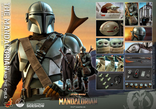 Star Wars Quarter Scale The Mandalorian & Child Collectible Figure [Regular Version] (Pre-Order ships January)