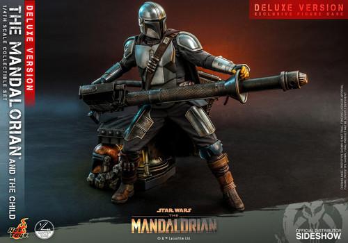 Star Wars Quarter Scale The Mandalorian & Child Collectible Figure [Deluxe Version] (Pre-Order ships April)