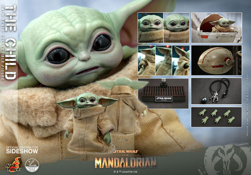 Star Wars The Mandalorian Quarter Scale The Child Collectible Figure (Pre-Order ships January)