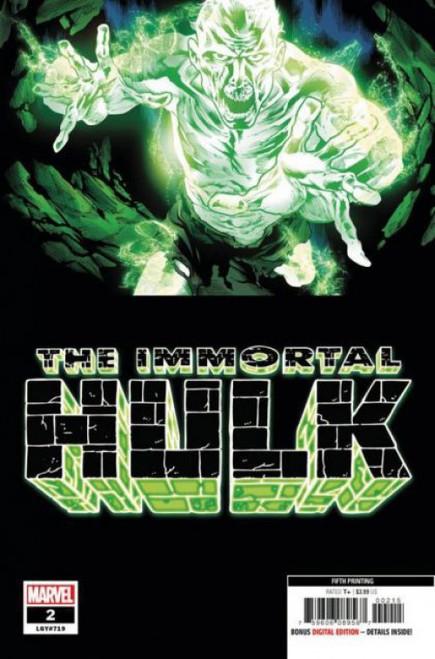 Marvel The Immortal Hulk #2F Comic Book