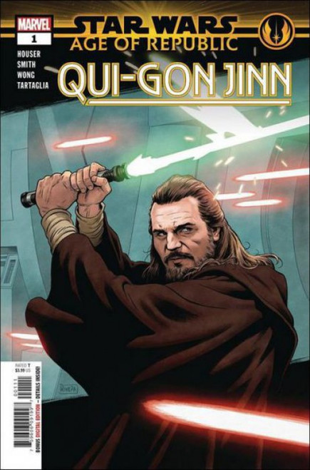 Marvel Star Wars: Age of Republic - Qui-Gon Jinn #1A Comic Book