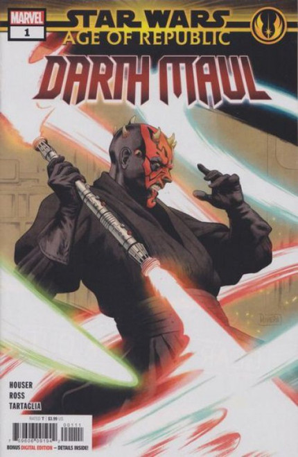 Marvel Star Wars: Age of Republic - Darth Maul #1A Comic Book