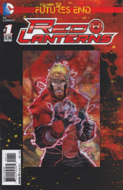DC Comics Red Lanterns: Futures End #1A Comic Book