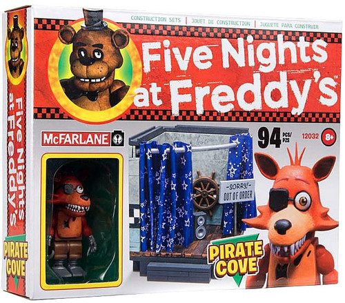 McFarlane Toys Five Nights at Freddy's Pirate Cove Construction Set [Foxy, Damaged Package]