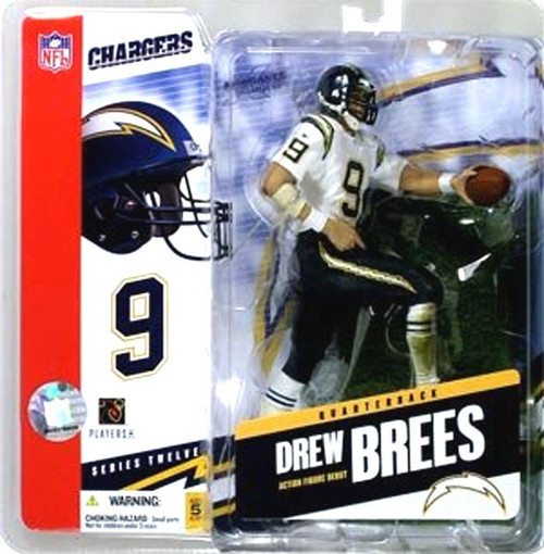 McFarlane Toys NFL San Diego Chargers Sports Picks Series 12 Drew Brees Action Figure [Damaged Package]