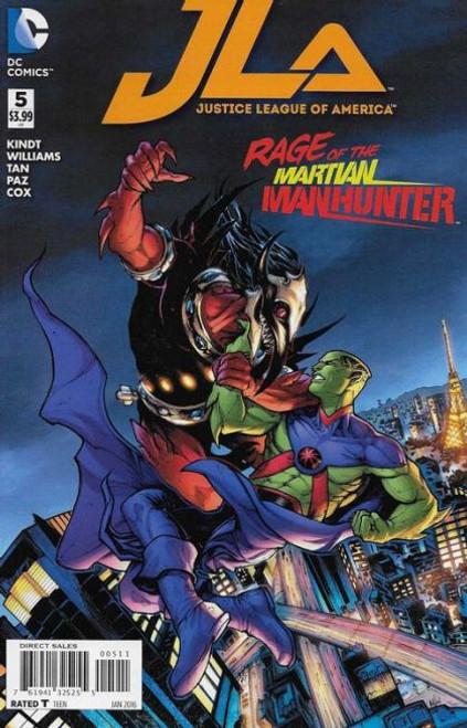 DC Comics Justice League of America, Vol. 4 #5A Comic Book