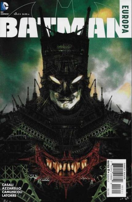 DC Comics Batman: Europa #3A Comic Book