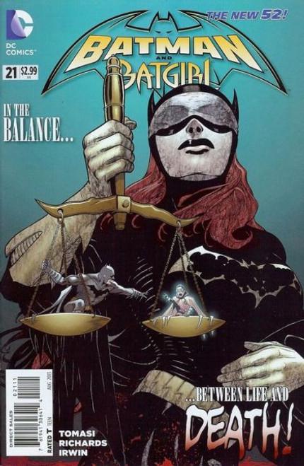 DC Comics Batman and Robin, Vol. 2 #21 Comic Book