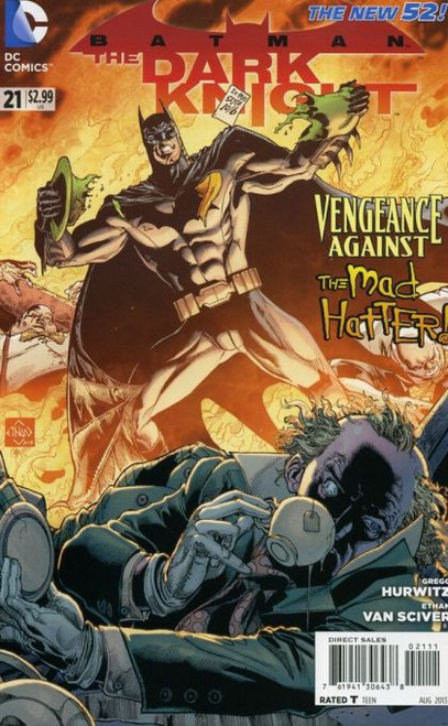 DC Comics Batman: The Dark Knight, Vol. 2 #21A Comic Book
