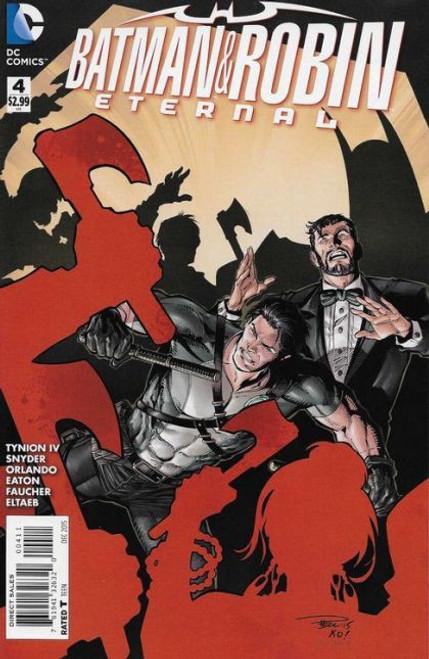 DC Comics Batman and Robin: Eternal #4 Comic Book