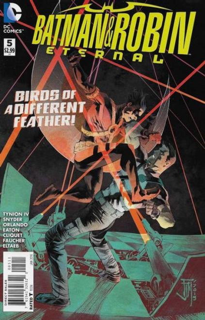 DC Comics Batman and Robin: Eternal #5 Comic Book