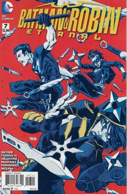 DC Comics Batman and Robin: Eternal #7 Comic Book