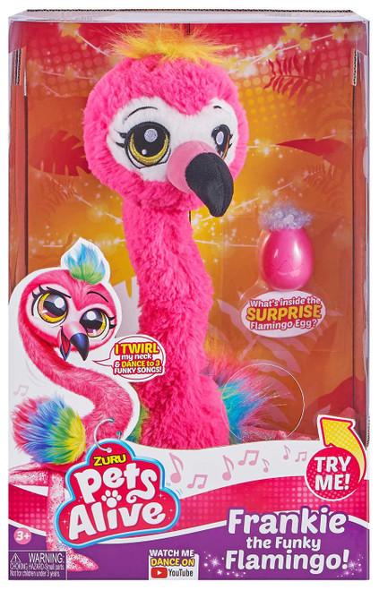 Pets Alive Frankie the Funky Flamingo! Robotic Pet Figure