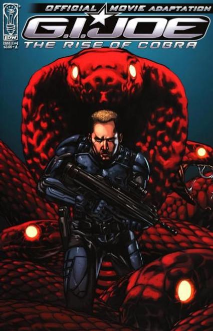 IDW Publishing G.I. Joe: The Rise of Cobra Movie Adaptation #4A Comic Book