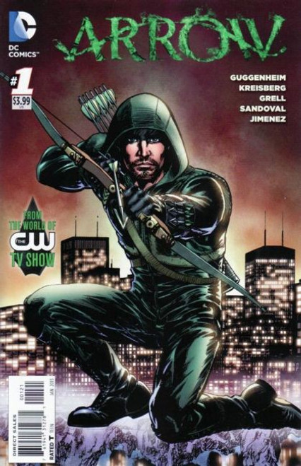 Arrow (DC Comics) #1C Comic Book [Mike Grell Variant]