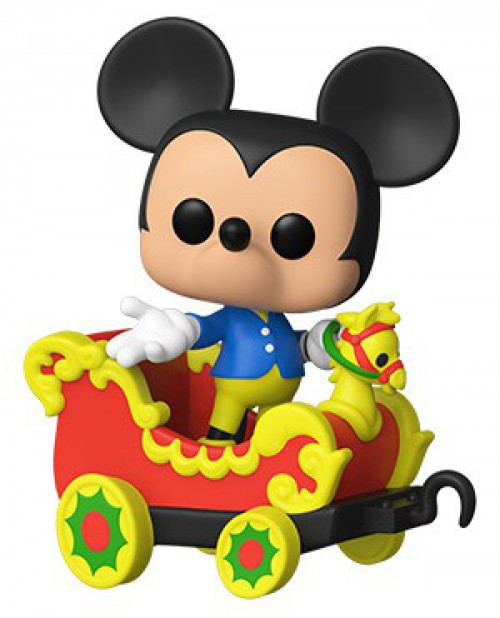 Funko Disneyland Resort 65th Anniversary POP! Disney Mickey Mouse on the Casey JR. Circus Vinyl Figure #03 [Damaged Package]