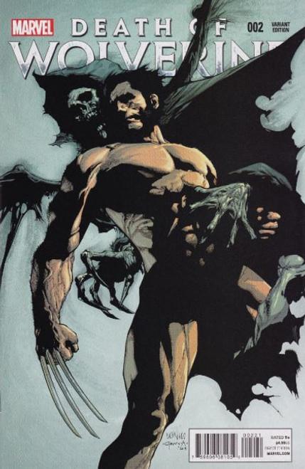 Marvel Death of Wolverine #2B Comic Book