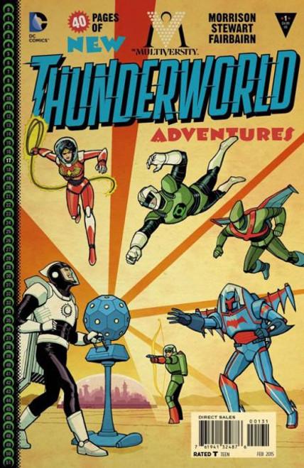 DC Comics The Multiversity: Thunderworld Adventures #1C Comic Book