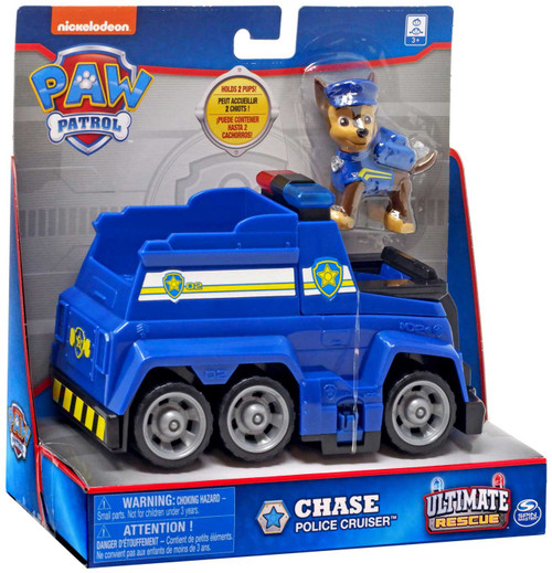 Paw Patrol Ultimate Rescue Chase Police Cruiser Vehicle & Figure [2020]