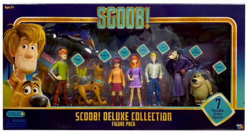 Scooby Doo Scoob! Deluxe Collection Figure Pack Exclusive Action Figure 7-Pack